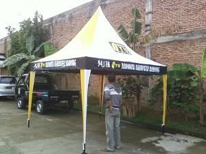 tenda promosi radio qyu kab. Bandung