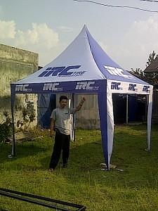 tenda promosi IRC