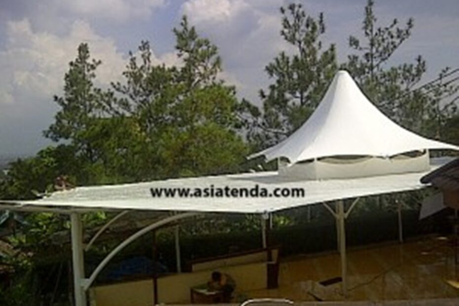 portofolio tenda membrane anti jamur