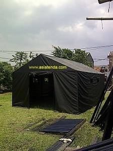 tenda bantuan TNI