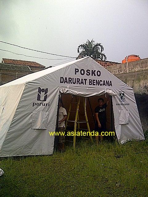 tenda darurat bencana II
