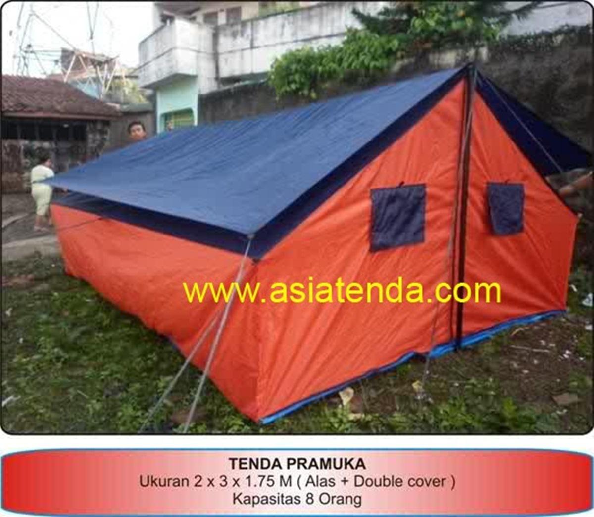 portofolio tenda pramuka amp
