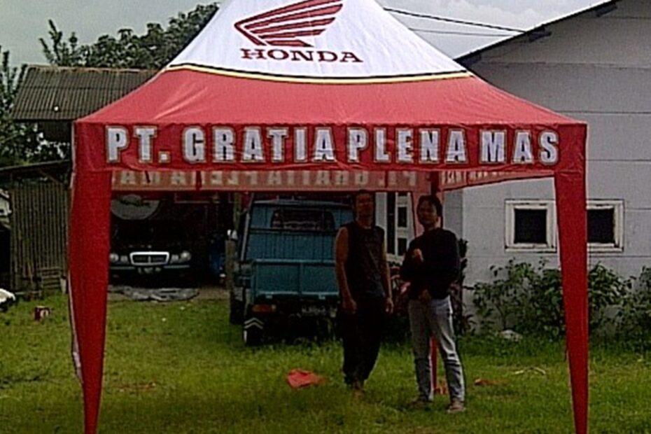 tenda promosi honda amp