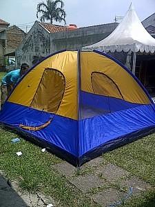 tenda dome teropong bintang