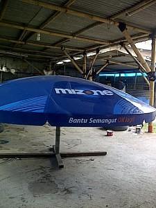 tenda parasol mizone