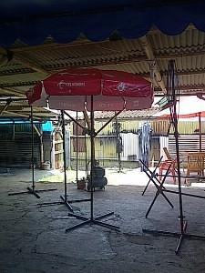 tenda parasol telkomsel