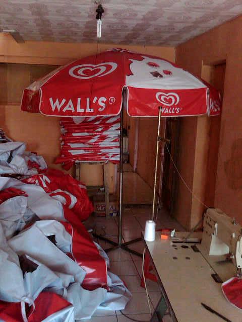 tenda parasol walls