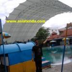 tenda membrane kolam renang