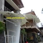 tenda membrane depan rumah