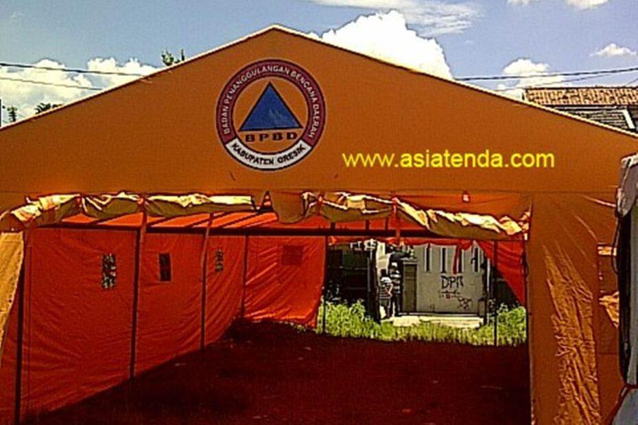 portofolio tenda bantuan bpbd