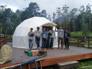 team tenda geodesic dome