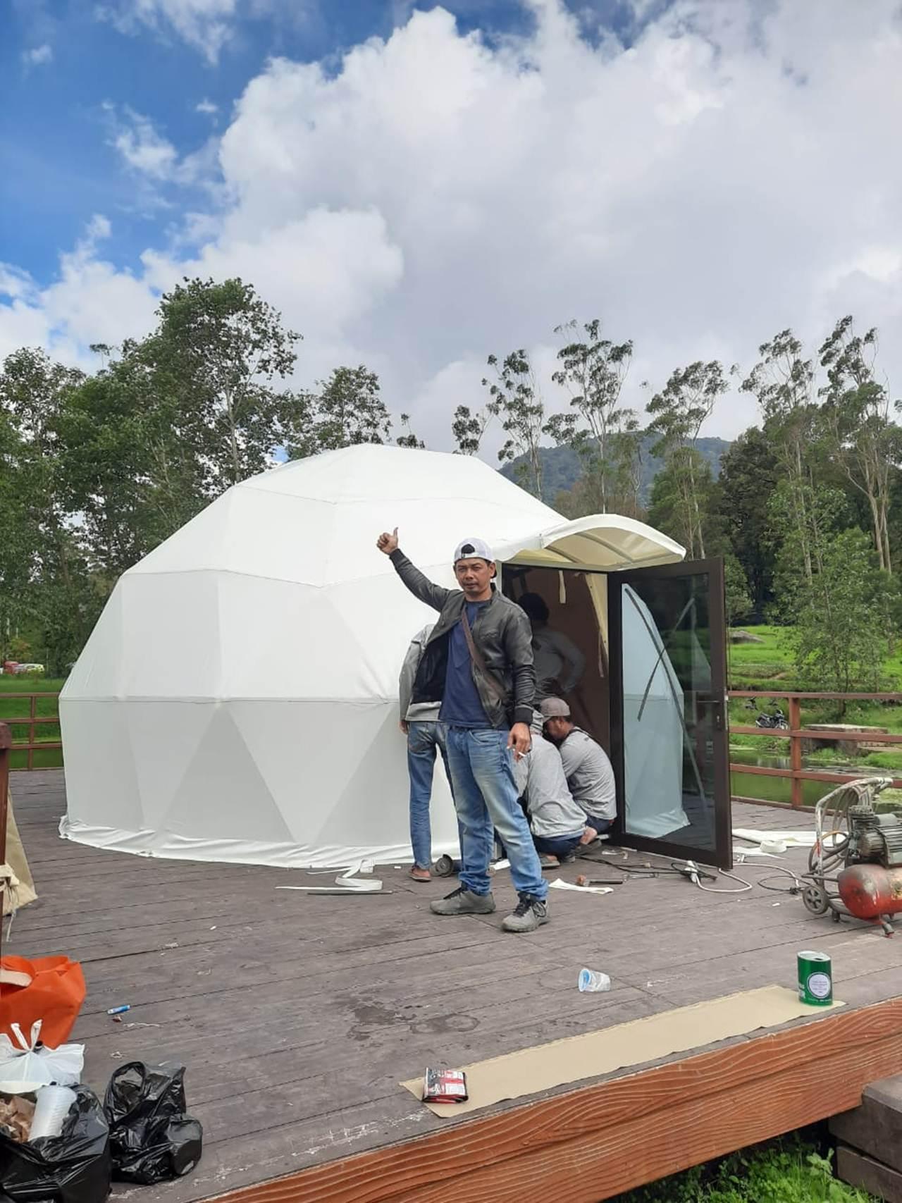 tenda geodesic