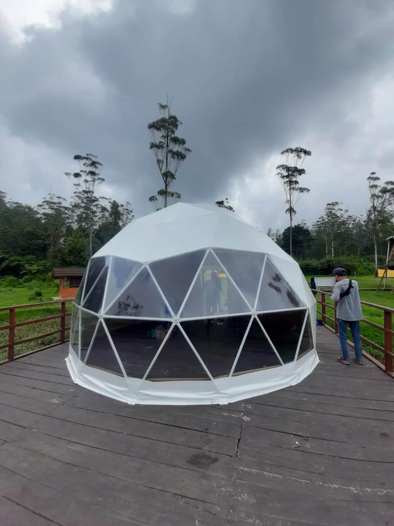 tenda geodesic dome amp