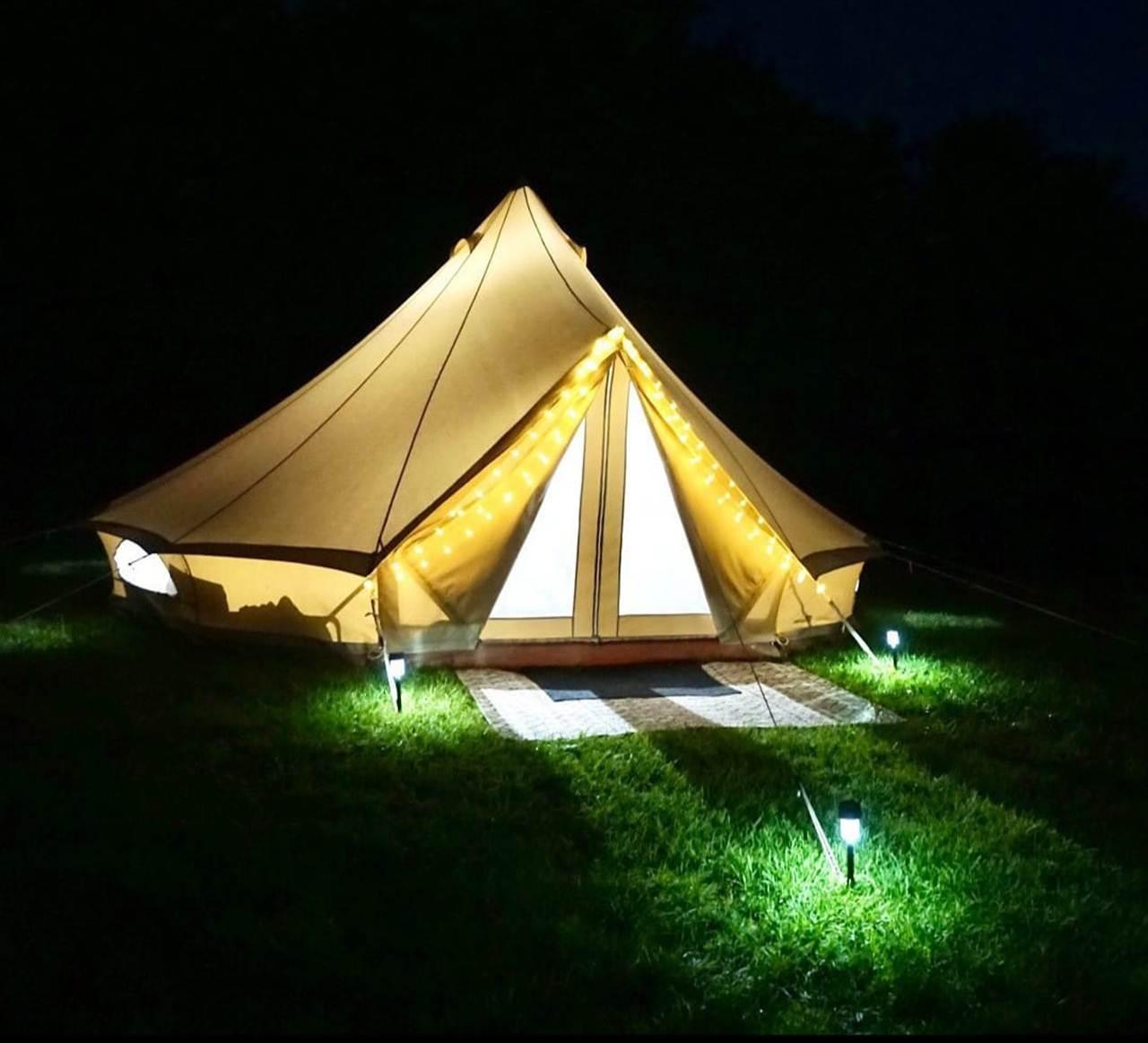 tenda glamping glamour 6