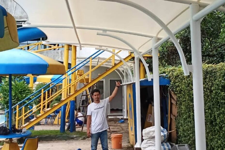 tenda membrane canopy edisi ke-1a