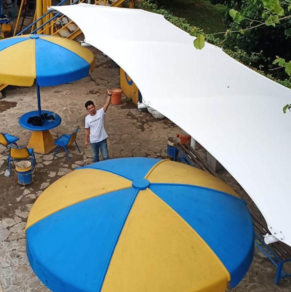 tenda membrane canopy edisi ke-1d