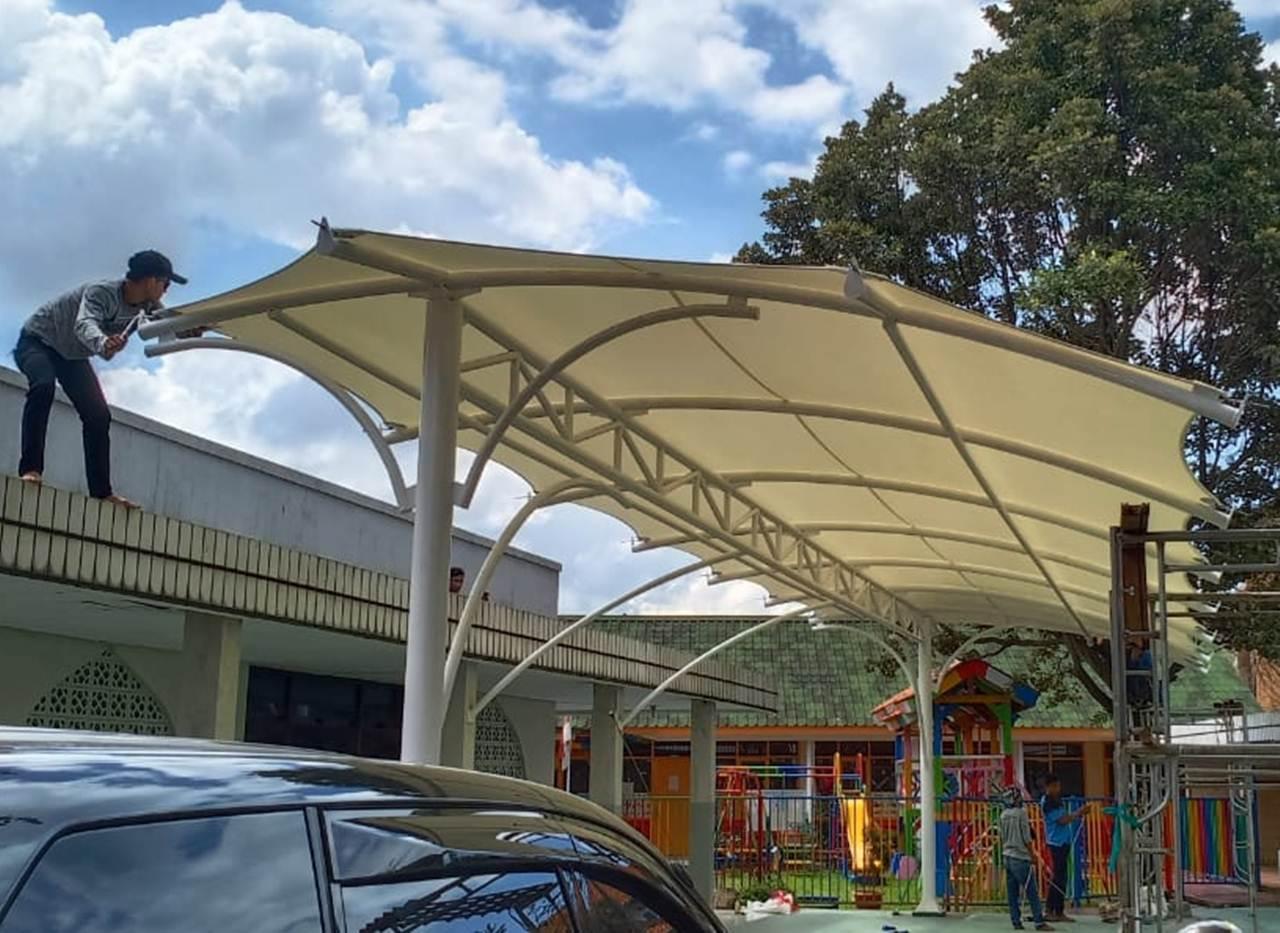 tenda membrane canopy edisi ke-1b